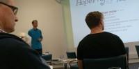 Dave presenting in Tauranga
